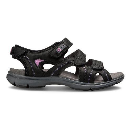 Womens Aravon REVsoleil Sandals Shoe - Black 8