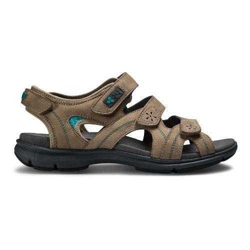 Womens Aravon REVsoleil Sandals Shoe - Taupe 11