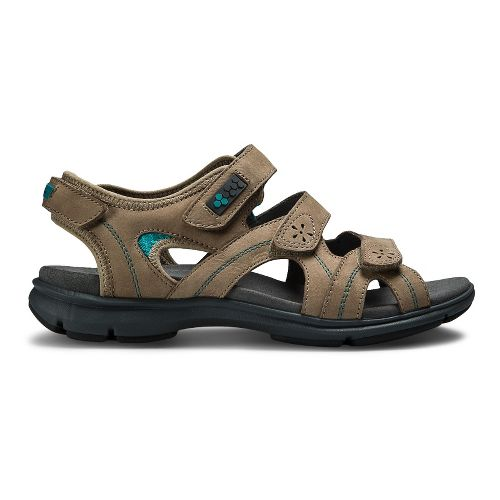 Womens Aravon REVsoleil Sandals Shoe - Taupe 9