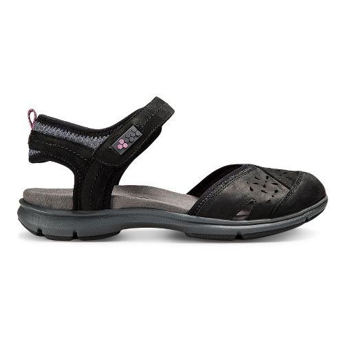 Womens Aravon REVswan Sandals Shoe - Black 8