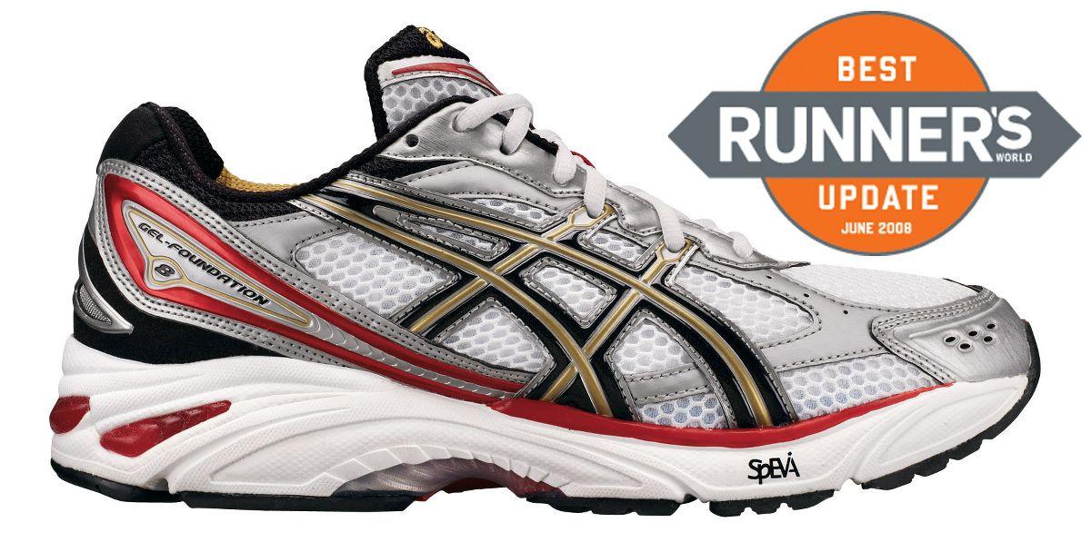 mens asics gel foundation 8 running shoe at road runner sports
