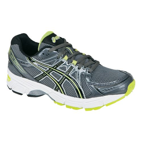 Kids ASICS GEL-1170 GS Running Shoe - Charcoal/Lime 5