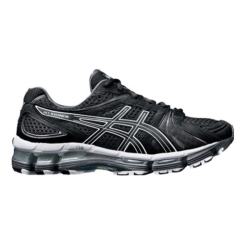 Womens ASICS GEL-Kayano 18 Running Shoe - Black 8