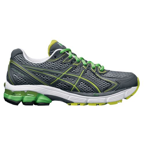 Womens ASICS GT-2170 Running Shoe - Charcoal/Green 7.5