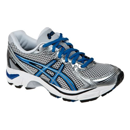 Kids ASICS GT-2170 GS Running Shoe - Silver/Blue 5