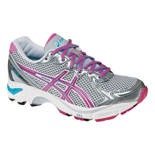 Kids ASICS GT-2170 GS Running Shoe - Silver/Pink 5.5