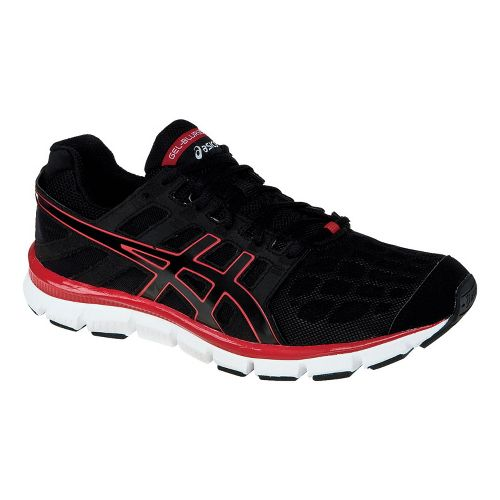 Mens ASICS GEL-Blur33 TR Cross Training Shoe - Black/Red 12.5
