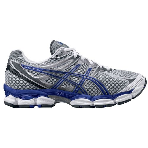 Womens ASICS GEL-Cumulus 14 Running Shoe - White/Purple 7