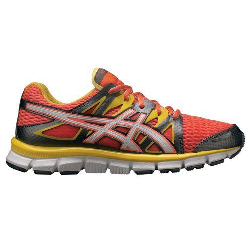 Womens ASICS GEL-Blur33 2.0 Running Shoe - Coral/Yellow 6.5