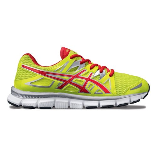Womens ASICS GEL-Blur33 2.0 Running Shoe - Lime/Pink 8.5