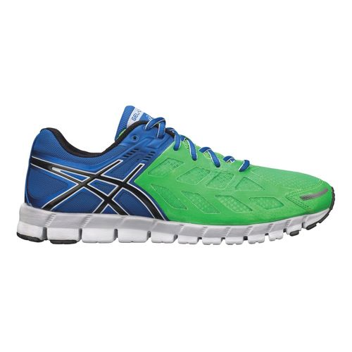 Mens ASICS GEL-Lyte33 Running Shoe - Blue/Green 10