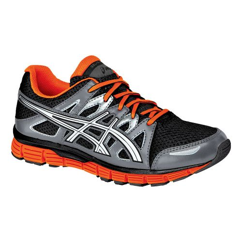 Kids ASICS GEL-Blur33 2.0 GS Running Shoe - Black/Orange 6.5