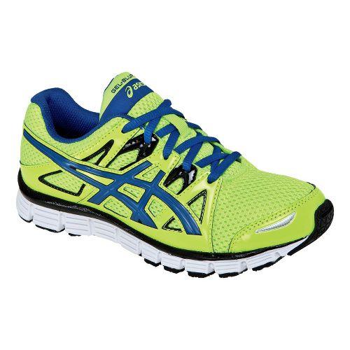 Kids ASICS GEL-Blur33 2.0 GS Running Shoe - Flash Yellow/Royal Blue 1.5
