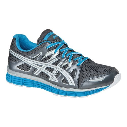 Kids ASICS GEL-Blur33 2.0 GS Running Shoe - Titanium/Lightning 5.5