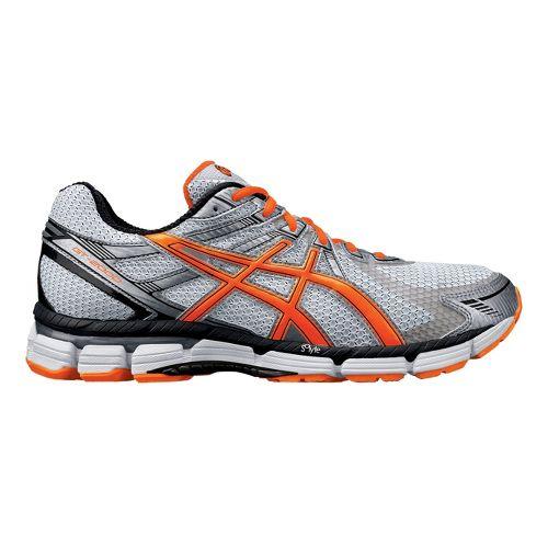 Mens ASICS GT-2000 Running Shoe - White/Orange 14