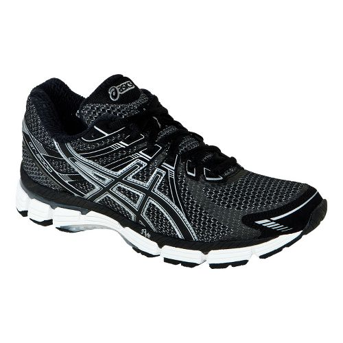 Womens ASICS GT-2000 Running Shoe - Black/Onyx 10