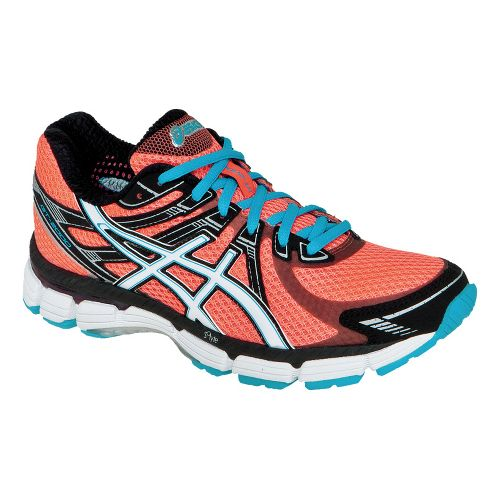 Womens ASICS GT-2000 Running Shoe - Electric Melon/White 12.5