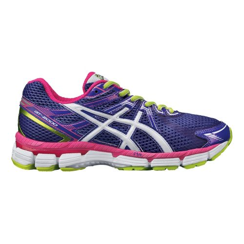 Womens ASICS GT-2000 Running Shoe - Grape/Pink 5.5