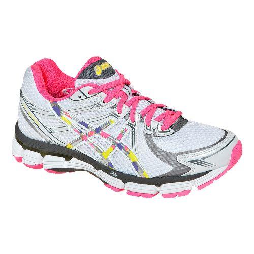 Womens ASICS GT-2000 Running Shoe - White/Pink 7.5