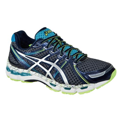Mens ASICS GEL-Kayano 19 Running Shoe - Ink/Blue 10