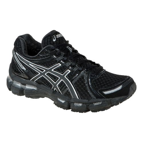 Womens ASICS GEL-Kayano 19 Running Shoe - Black 8.5