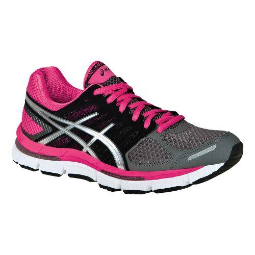 Womens ASICS GEL-Neo33 2 Running Shoe - Titanium/Silver 6.5