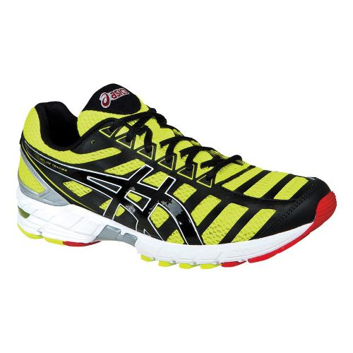 Mens ASICS GEL-DS Trainer 18 Running Shoe - Yellow/Black 7.5