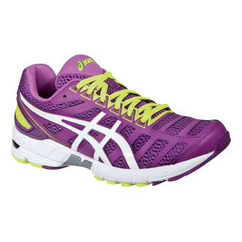 Womens ASICS GEL-DS Trainer 18 Running Shoe - Purple/White 7.5