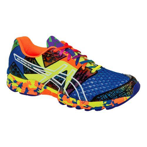 Mens ASICS GEL-Noosa Tri 8 Running Shoe - Blue/Multi 7.5