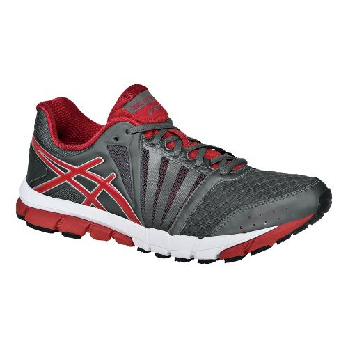 Mens ASICS GEL-Lyte33 2 Running Shoe - Titanium/Chili 9
