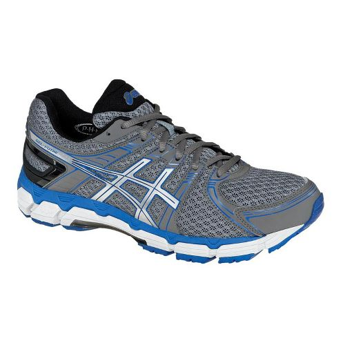 Mens ASICS GEL-Forte Running Shoe - Grey/Blue 9.5