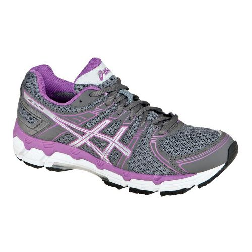 Womens ASICS GEL-Forte Running Shoe - Grey/Purple 6.5