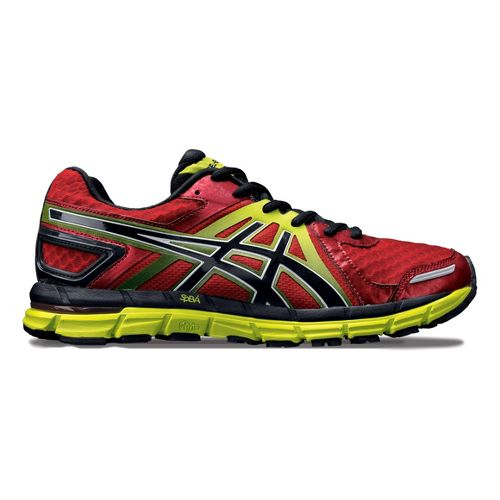 Mens ASICS GEL-Excel33 2 Running Shoe - Red/Black 14