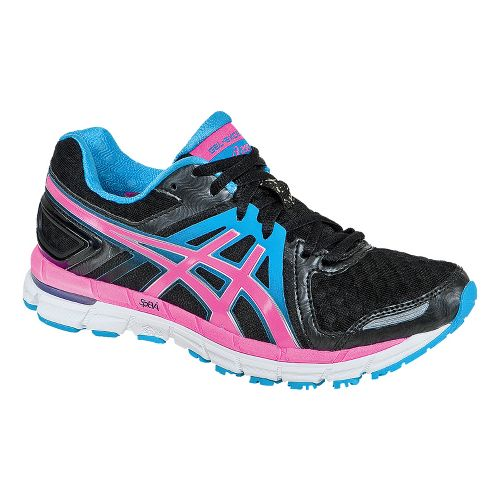 Womens ASICS GEL-Excel33 2 Running Shoe - Black/Electric Pink 5