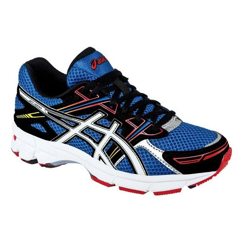 Kids ASICS GT-1000 GS Running Shoe - Blue/White 3