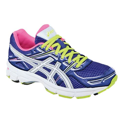 Kids ASICS GT-1000 GS Running Shoe - Grape/White 5