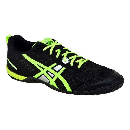 Mens ASICS GEL-Fortius TR Cross Training Shoe - Black/Lime 10.5