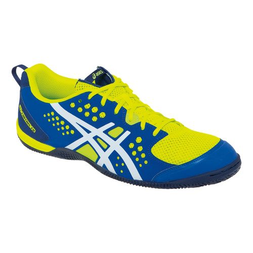 Mens ASICS GEL-Fortius TR Cross Training Shoe - Flash Yellow/Royal Blue 10.5