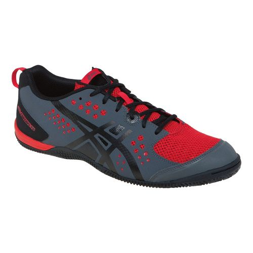 Mens ASICS GEL-Fortius TR Cross Training Shoe - Graphite/True Red 6.5
