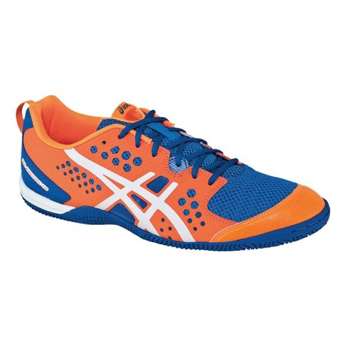 Mens ASICS GEL-Fortius TR Cross Training Shoe - Neon Orange/White 11.5