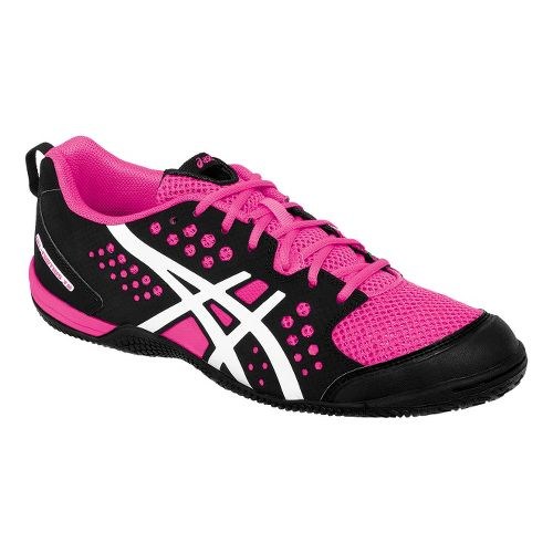 Womens ASICS GEL-Fortius TR Cross Training Shoe - Black/KnockoutPink 5