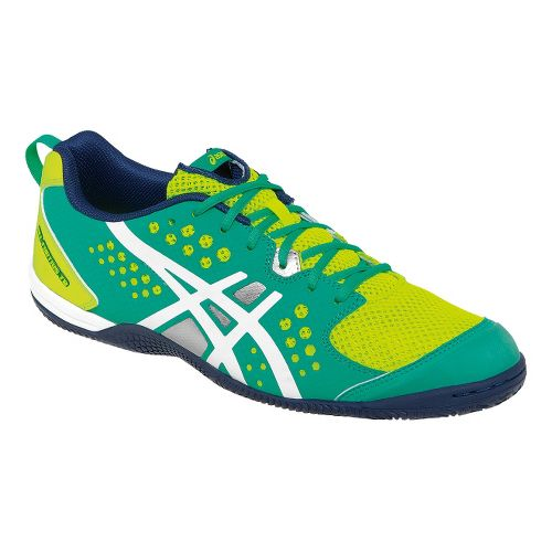 Womens ASICS GEL-Fortius TR Cross Training Shoe - Flash Yellow/Medieval Blue 10.5