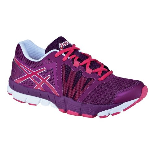 Womens ASICS GEL-Craze TR Cross Training Shoe - Boysenberry/White 10.5