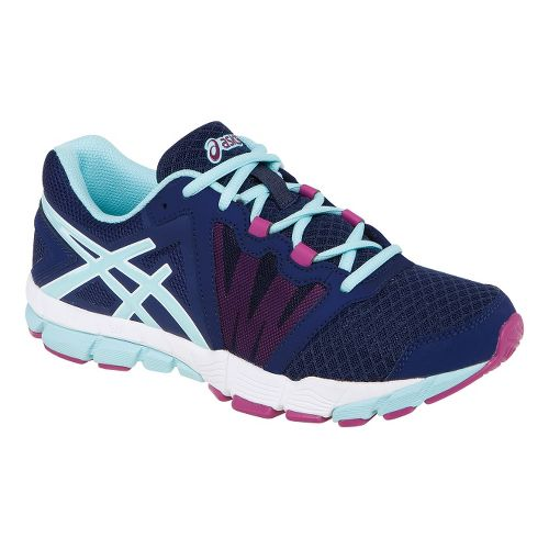Womens ASICS GEL-Craze TR Cross Training Shoe - Navy/Mint 7.5