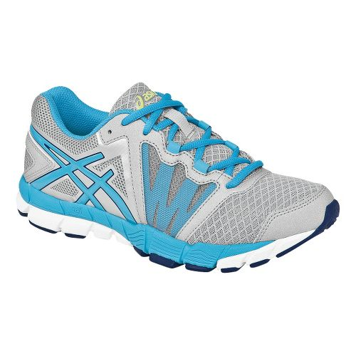 Womens ASICS GEL-Craze TR Cross Training Shoe - Silver/Turquoise 11