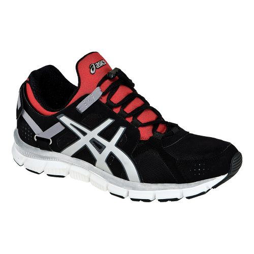 Mens ASICS GEL-Synthesis Cross Training Shoe - Black/Red 6.5
