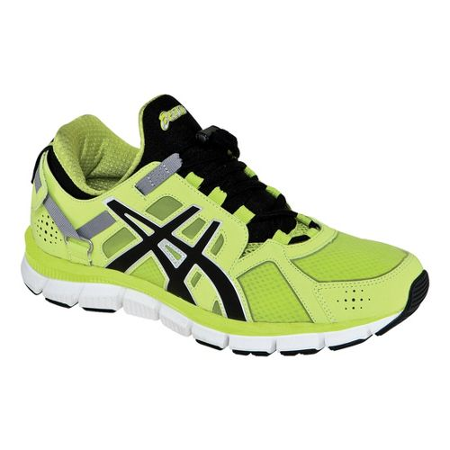 Mens ASICS GEL-Synthesis Cross Training Shoe - Lime/Black 12.5