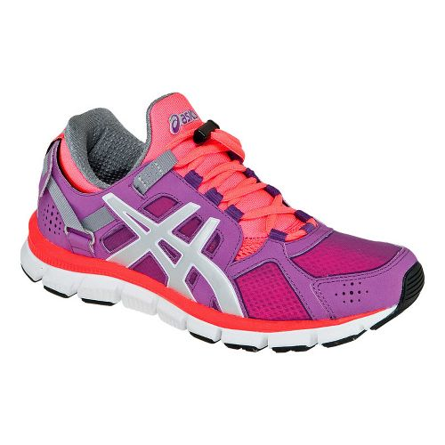 Womens ASICS GEL-Synthesis Cross Training Shoe - Orchid/Melon 12.5