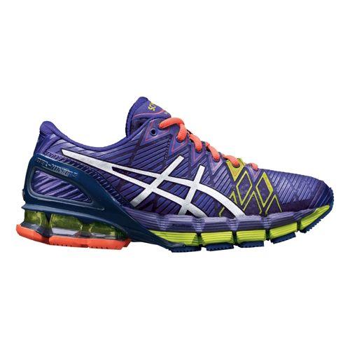Womens ASICS GEL-Kinsei 5 Running Shoe - Purple 11.5