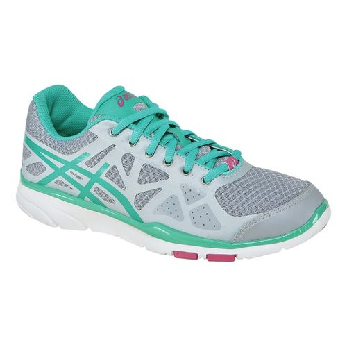 Womens ASICS GEL-Harmony TR Cross Training Shoe - Frost/Ice Green 10.5